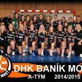 tým DHK Baník Most 2014-2015