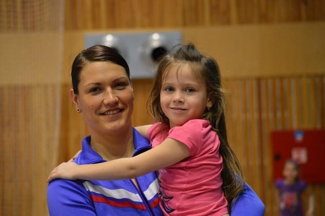 Oblíbená trenérka Eva Bezpalcová