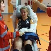 Kristina VOJTELOVÁ v péči zachranářů